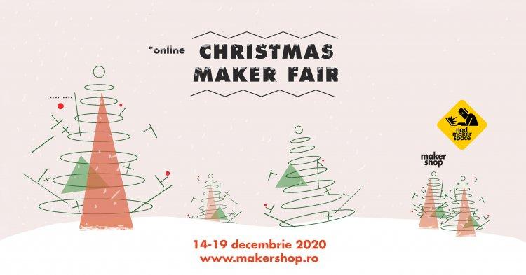 Christmas Maker Fair – Târgul online de Crăciun unde micii producători își pot vinde creațiile