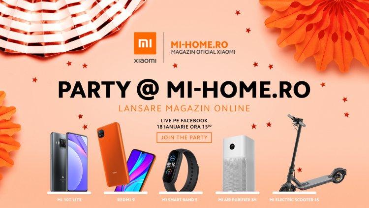 Xiaomi Romania isi lanseaza noul magazin digital Mi-Home.ro