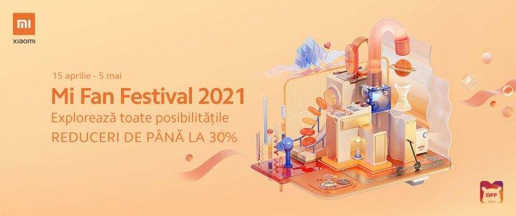 Xiaomi dă startul Mi Fan Festival 2021 în România