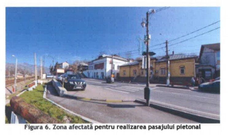 Pasaje pietonale pe DN1: cum vor arăta și unde vor fi amplasate cele din Comarnic și Bușteni